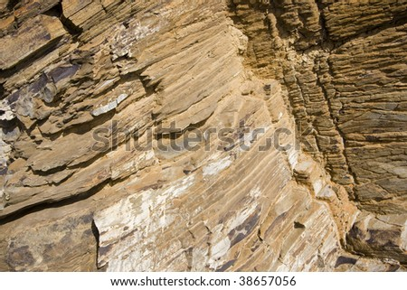 close up of a rock for texture #38657056