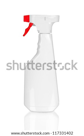 Close-up of a spray bottle