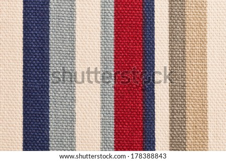 Close up of a striped cotton cloth as a background #178388843