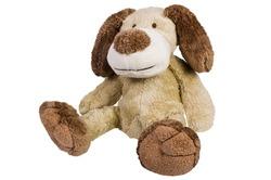 Close-up of a stuffed dog toy