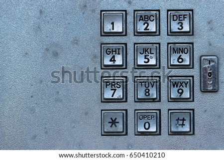 free photos telephone keypad with buttons. numbers and letters. top