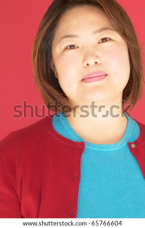 Close up of a woman thinking