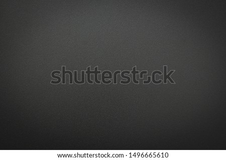 Close-up of Aluminum metal black gray texture. The surface of rough abstract dark black matte background. Design in your work backdrop and decoration. Concept blank copy space for text.