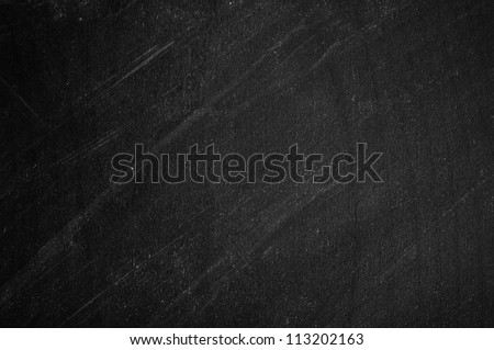 close up of an empty school blackboard