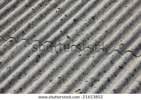 close up of an old roof-top