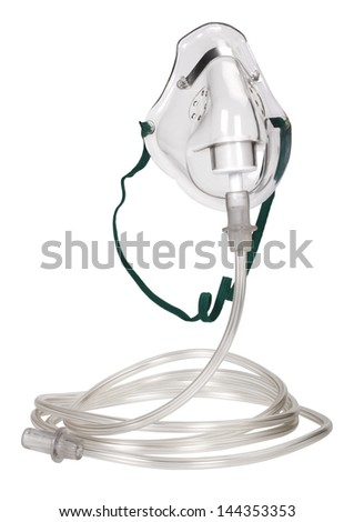 Close-up of an oxygen mask #144353353
