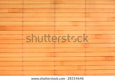 Close-up of bamboo mat for background