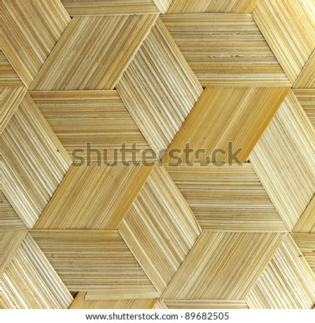close up of bamboo texture