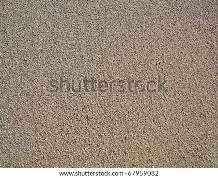 close up of Beach Sand on Diamond Head beach Hawaii. texture works well as abstract background. Sand pattern.