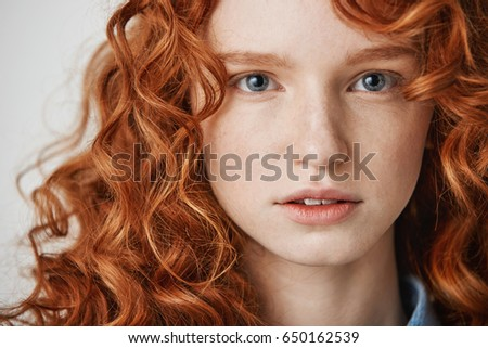 Teen girls head Red