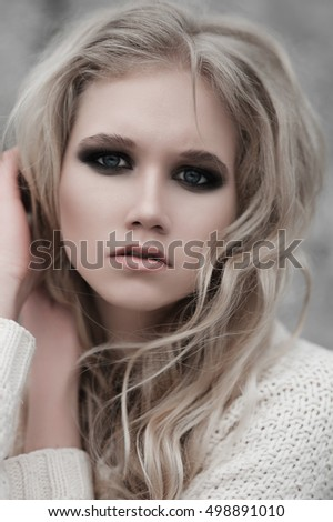 Pity, Pale white blonde girl