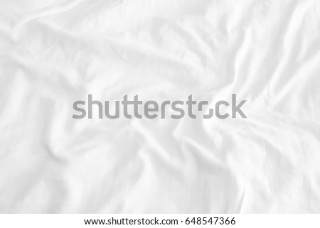 Close up of bedding sheets with copy-space Photo stock ©