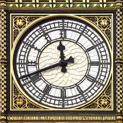 Close-up of Big Ben, Clock Tower, Westminster Palace, London
