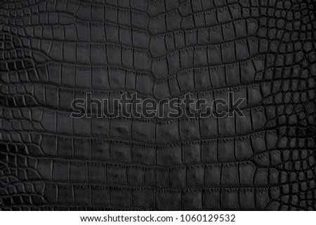 Black Crocodile Skin Texture As A Wallpaper Images And Stock