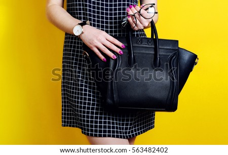 FREE IMAGE: Yellow Leather Bags - Libreshot Public Domain Photos