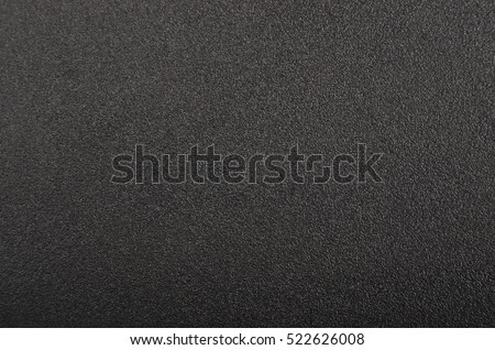 Close up of black textured plastic background stock photo