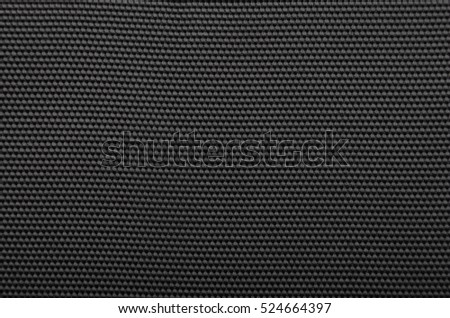 Close up of black textured synthetical background #524664397