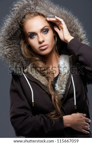Young Man Wearing A Hooded Sweatshirt | Male Models Picture