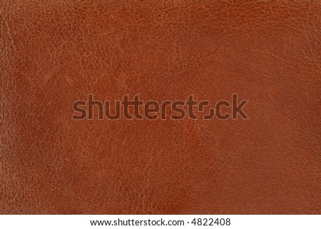 close-up of brown leather texture