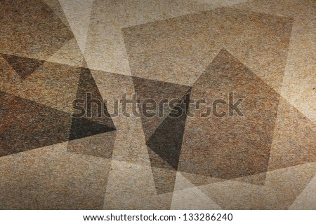 Close up of brown paper