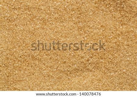 Close up of brown sugar texture