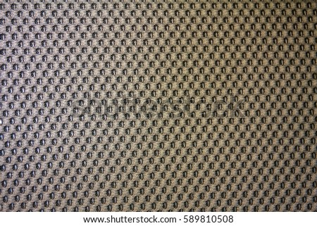 Close Up Of Car Seat Fabric Texture 589810508