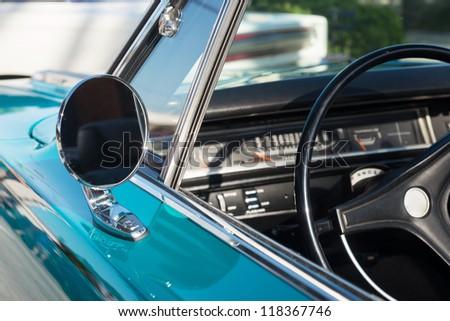 Close up of Classic Car