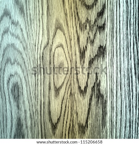 Close up of colored wood texture with strong grain.