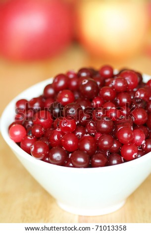Close-up of cranberry