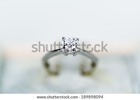 Close up of Diamond Ring #189898094