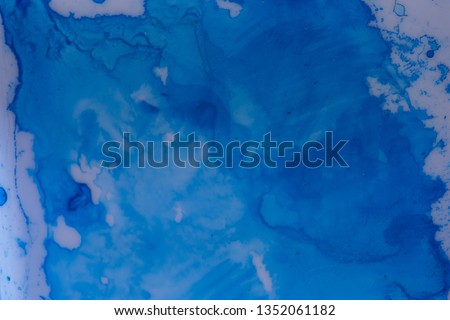 Close up of different color oil paint, Patterns or backgrounds of various colors, colors on the fabric.  #1352061182