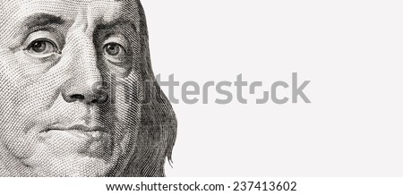 close up of dollar bill (details) Stock photo ©