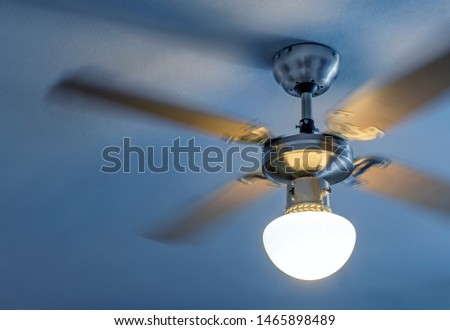 Close up of Electric Ceiling Fan