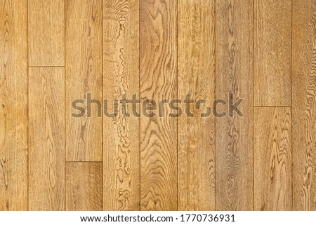 Close-up of engineered oak floorboards. Wood background Stock photo ©