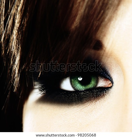 stock photo : Close-up of eye
