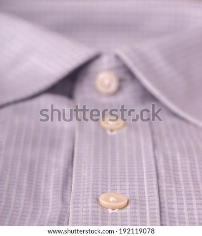 close up of folded shirt