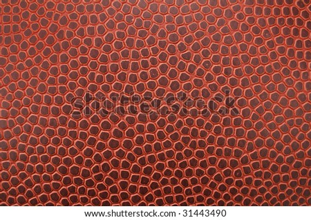 Close-up of Football Texture for a background