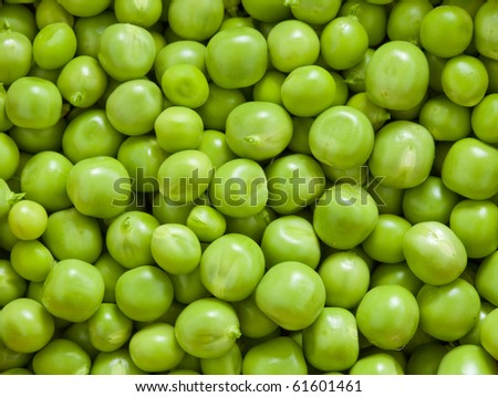 Close-up of fresh green pea