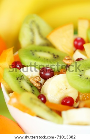 Close-up of Fruit salad