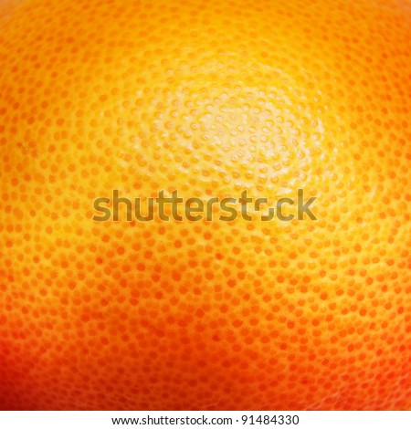 Close up of grapefruit or orange texture. #91484330