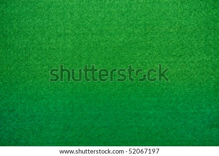 Close up of green poker table felt background stock photo 52067197