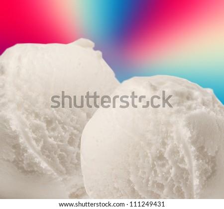 Close up of ice cream #111249431