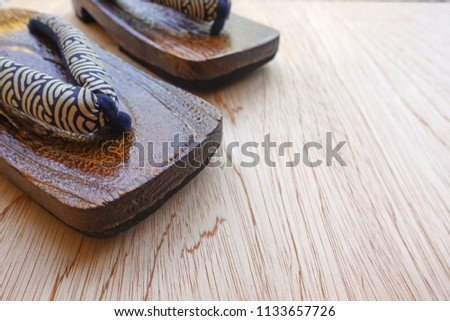 Wooden Shoes Of Japanese Geisha Images And Stock Photos Page 2