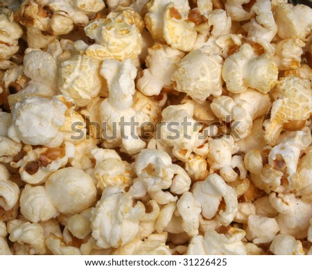 Close Up of Kettle Corn