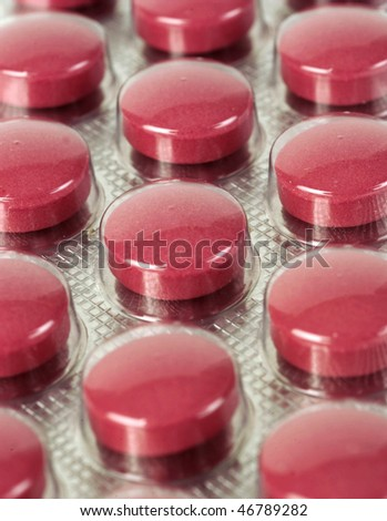 close up of medecine
