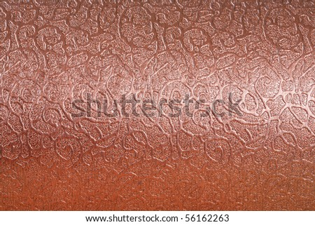 Close up of metal background texture