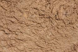 Close up of muddy puddle