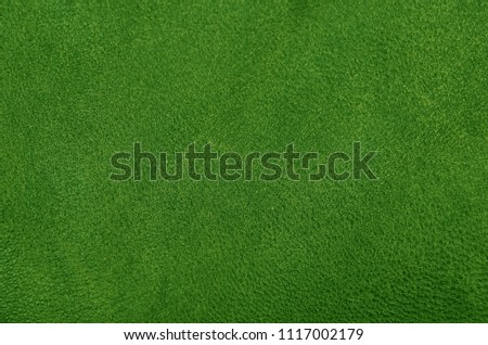 Close up of natural green leather background #1117002179