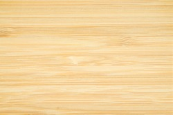 Close up of Natural light brown planks bamboo wood texture table background. Abstract surface rough pattern. Design in your work backdrop and decoration. Concept blank copy space for text.
