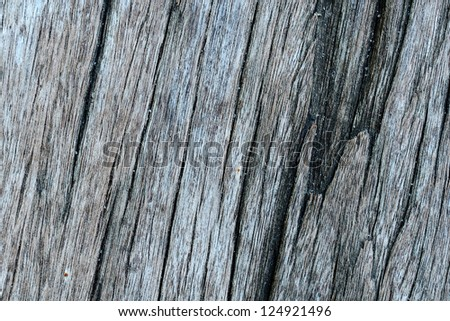 Close up of old wooden planks background